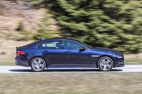 Fahrbericht Jaguar XF 2.0d AWD / XE 2.0d XE AWD