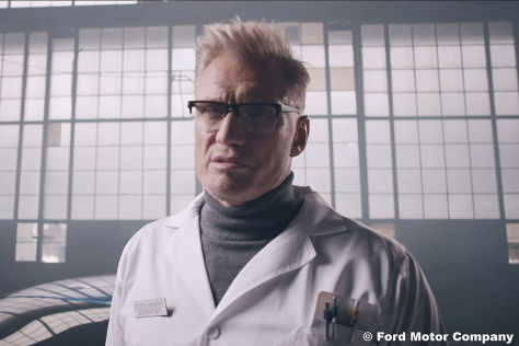 Lundgren wirbt für Ford