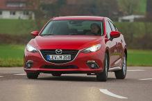 So f�hrt der Mazda3 mit kleinem Diesel
