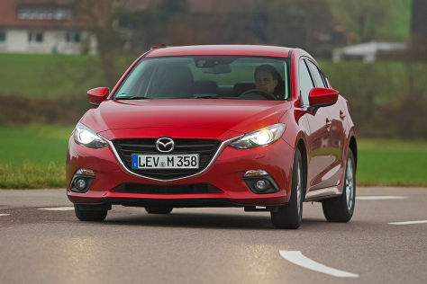 Mazda3 Skyactiv-D 105 (2016): Fahrbericht