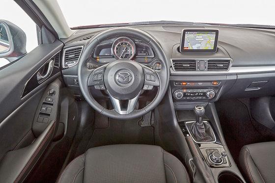 So fährt der Mazda3 mit kleinem Diesel