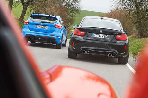 BMW M2/Ford Focus RS/Porsche 718 Boxster S: Test