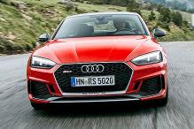 Audi RS 5 (2017): Erlkönig