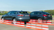 BMW X4/Jaguar F-Pace: Test