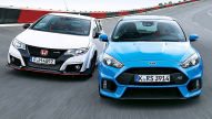 Ford Focus RS/Civic Type R: Test