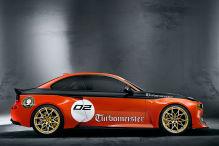 BMW feiert den Turbo