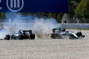 Formel 1: Mercedes-Duell