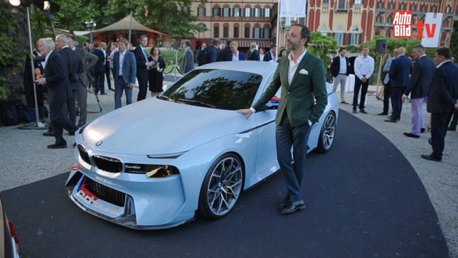 BMWs Hommage am Comer See