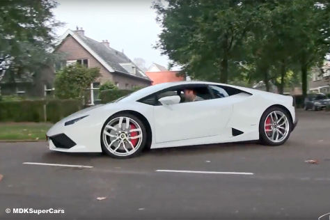 Supercar-Parade in Holland