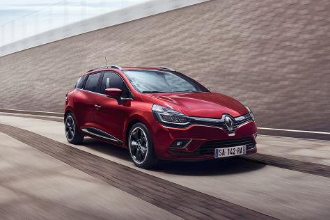 Renault Clio (2016):Facelift