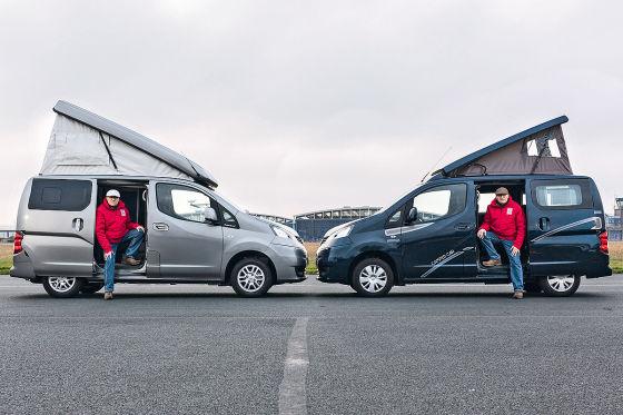 Nissan Evalia Zooom Stadtindianer, Nissan Evalia Cristall Camper Car