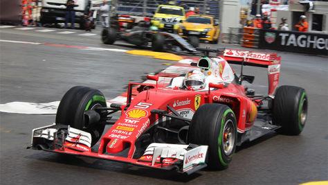 Formel 1: Vettel Vierter in Monaco