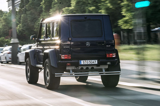 Mercedes G Klasse X
