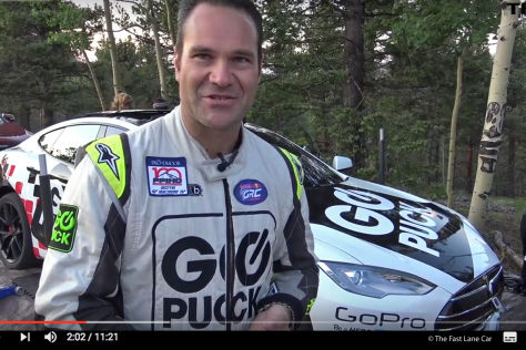 "Tesla Model S ""Go Puck"": Pikes Peak 2016"