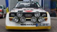 Audi Sport Quattro S1 E2 (1985): Mitfahrt