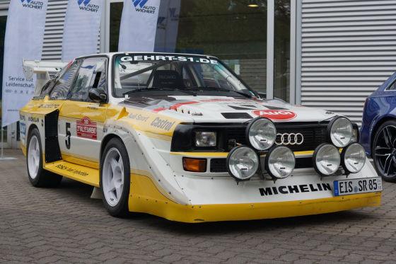 Audi Quattro Rally Car For Sale