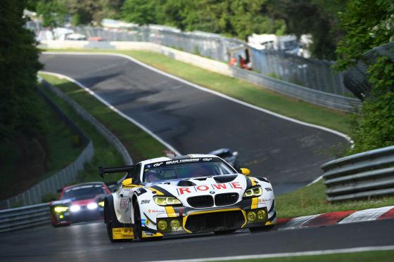 BMW M6 GTR von Rowe Racing