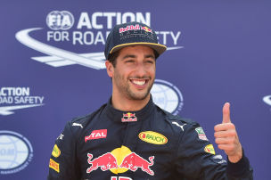 Ricciardo testet Williams