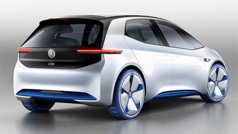 VW Showcar I.D.: Autosalon Paris 2016