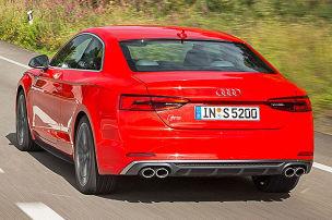 Erste Fahrt im neuen Audi S5 Coup�