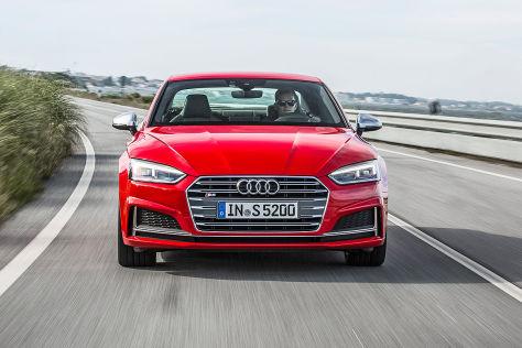 Audi A5 (2016): Sitzprobe