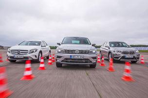 VW Tiguan/BMW X1/Mercedes GLA: Test