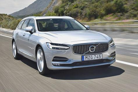 Volvo V90 D5 AWD im Test (2016): Fahrbericht im Diesel ...