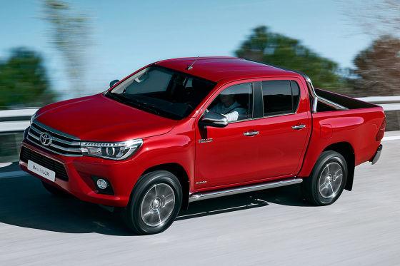 Pick-up-Fahrbericht Toyota Hilux - autobild.de