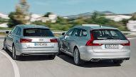 Audi A6 Avant/Volvo V90: Vergleich