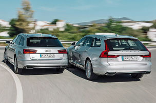 Volvo will Audi wegpusten
