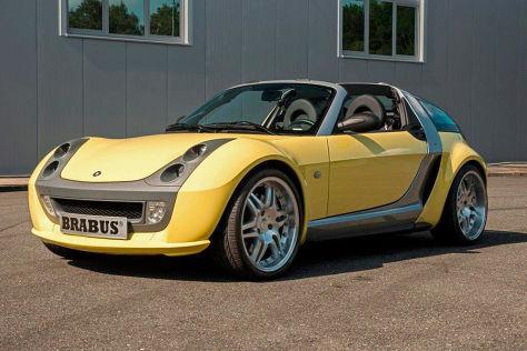 Smart Brabus Roadster mit Schaltgetriebe