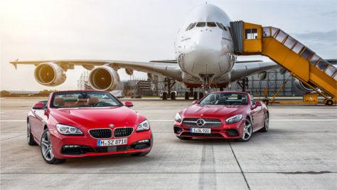 BMW 6er/Mercedes SL/A380: Vergleich
