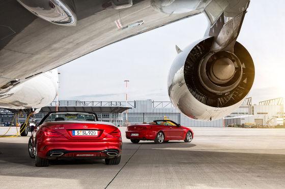 BMW 6er Mercedes SL Airbus A380
