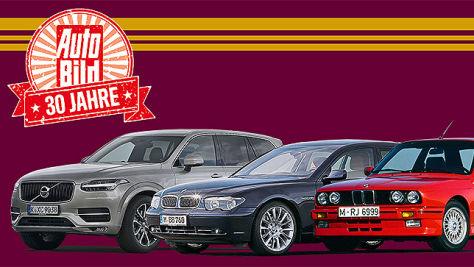 Leserwahl: Die besten Automodelle von 1986 - 2015