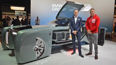 Rolls-Royce Vision Next 100 Studie: Vorstellung