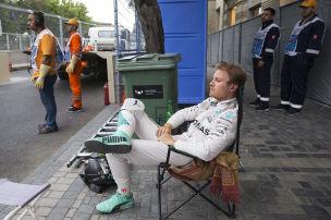 Hamilton macht Rosberg Druck