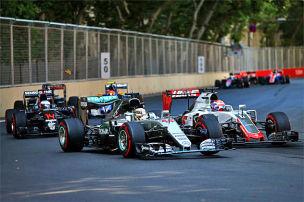Formel 1: Funk-Stunk in Baku