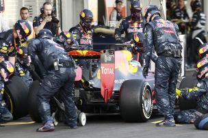 Reifen-R�tsel bei Ricciardo & Co.