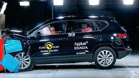 VW Tiguan, Seat Ateca, Alfa Romeo Giulia: Euro-NCAP-Crashtest