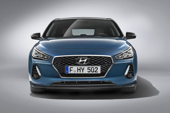 Hyundai i30 Illustration