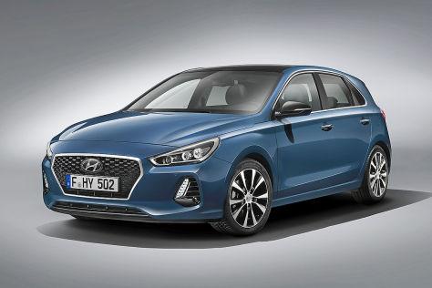Hyundai i30 (Paris 2016): Erlkönig