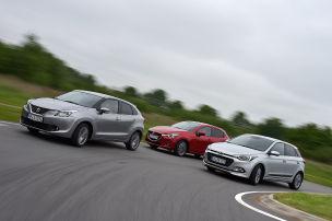 Hyundai i20/Mazda2/Suzuki Baleno: Test