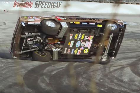 Jay Leno: Überschlag im Drag Racer