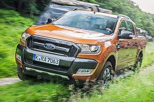 Starker Auftritt, Ford Ranger