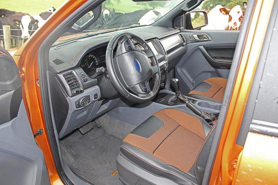 Starker Auftritt des Ford Ranger