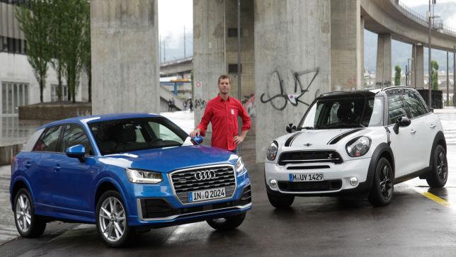 Audi bläst zum Mini-Angriff