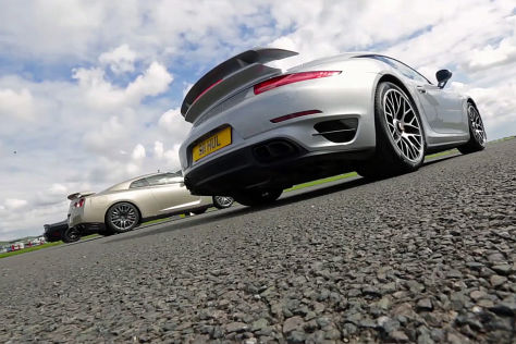 Dodge Challenger vs. Porsche 911 vs. Nissan GT-R