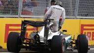 Formel 1: Motor-Sorgen für Hamilton