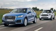 Audi Q2/Mini Countryman: Vergleich