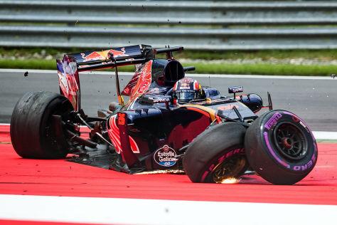 Formel 1: Gefährliche Randsteine